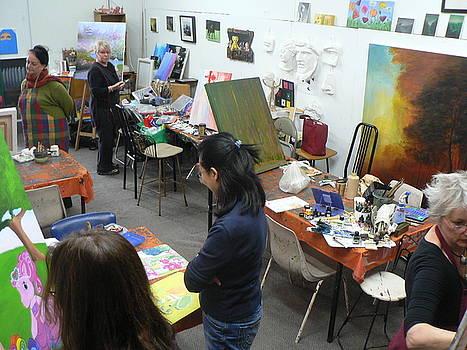 Adult classes by Croydon Art studio
