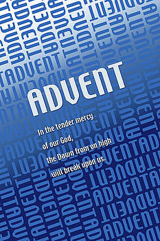 Advent Blue by Chuck Mountain