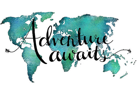 Adventure Awaits 24x36 by Michelle Eshleman