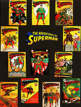 Adventures Of Superman by W And F Kreations