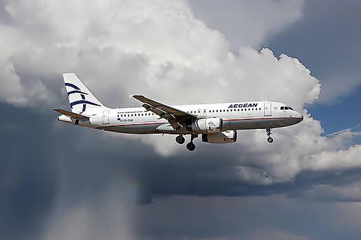 Aegian Airlines by Nichola Denny