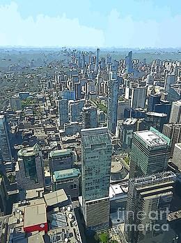John Malone - Aerial Abstract Toronto