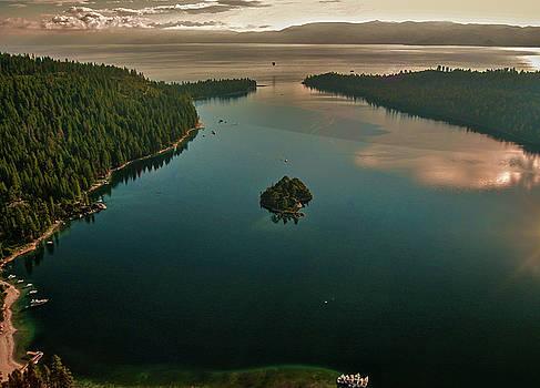Steven Lapkin - Aerial Emerald Bay
