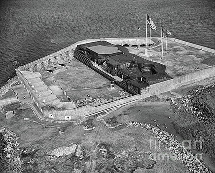 Dale Powell - Aerial of Fort Sumter