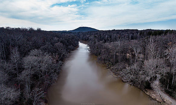 Aerial River View by Ant Pruitt