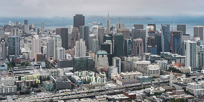 Aerial San Francisco by Michael Lee