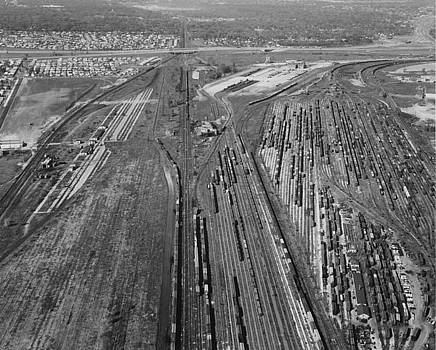 Chicago and North Western Historical Society - Aerial Shot of Proviso Train Yard