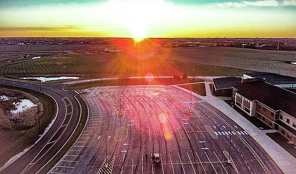 Aerial Sunrise by Giovanni Arroyo