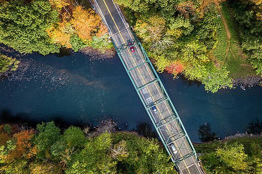 Lorrie Joaus - Aerial view of a bridge