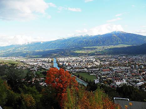 Aerial View of Innsbruck 1 by Pema Hou