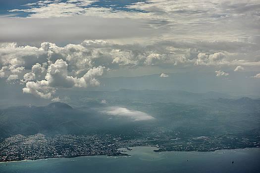 Reimar Gaertner - Aerial view of Mount Isabel de Torres with Septentrional and Cen