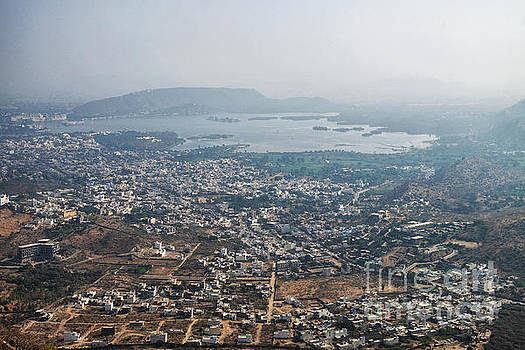 Aeriel View of Udaipur from Monsoon Palace by Yew Kwang