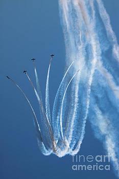Aerobatics display by Angel Tarantella