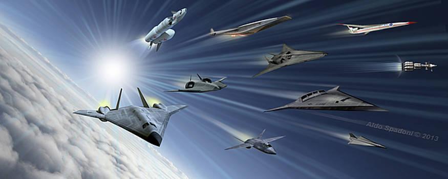 Aerospace Concepts by Aldo Spadoni