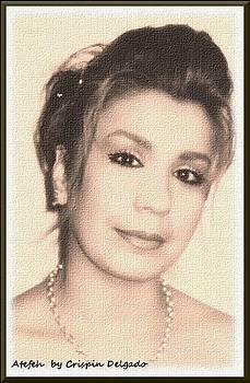 Afefeh Portrait by Crispin  Delgado