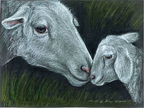 Affectionate Nuzzle by Linda Nielsen