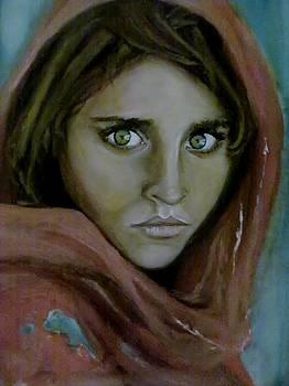 Afghan girl by Lise