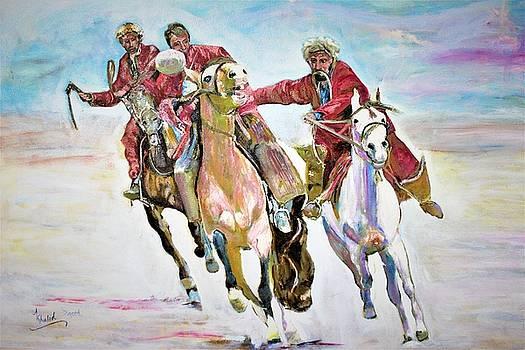 Afghan sport. by Khalid Saeed