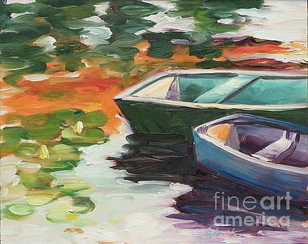 Afloat on Rock Pond by Lynne Schulte