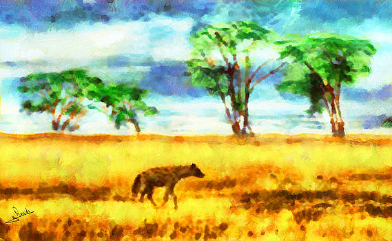 Africa hyena 2 by George Rossidis