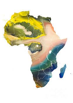 Justyna Jaszke JBJart - Africa Map climate