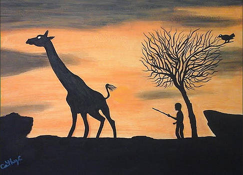 Africa scene by Catherine Velardo