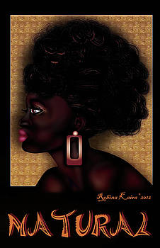 African afro beauty by Robina Kaira