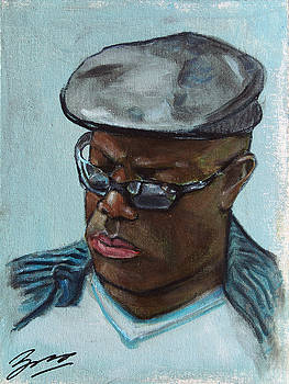 African American 14 by Xueling Zou