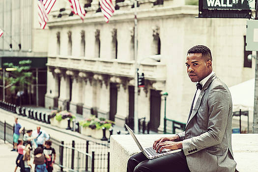 Alexander Image - African American Businessman working in New York 1508233