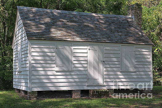 African American Slave Quarters at McLeod Plantation by Dale Powell