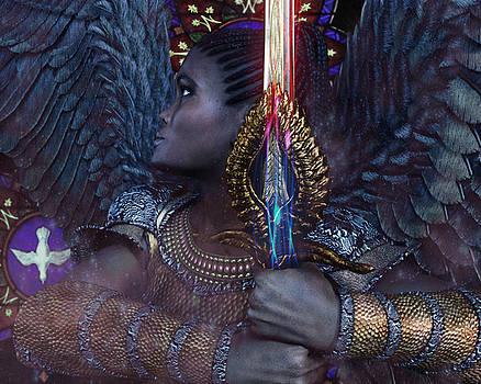 African Angel 6 by Suzanne Silvir
