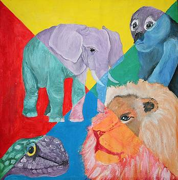 African Animals by Joanna Aud