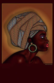 African Beauty by Robina Kaira