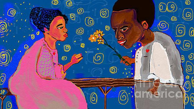 African Boy by Jackie Pecoroni
