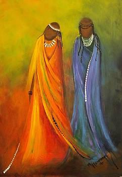 African Bride2 by Marietjie Henning