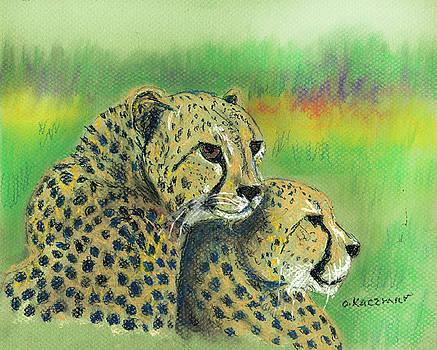 African Cheetahs by Olga Kaczmar