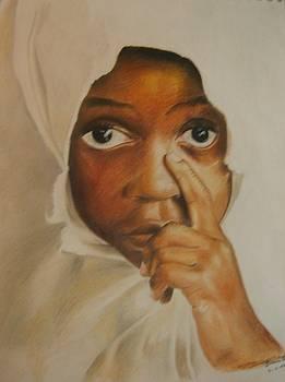 African Child by Bennie Parker