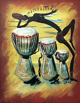 African Dance and Sing by Sean Linell Ivy-El