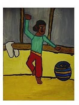 African Dancer by Annie Dameron