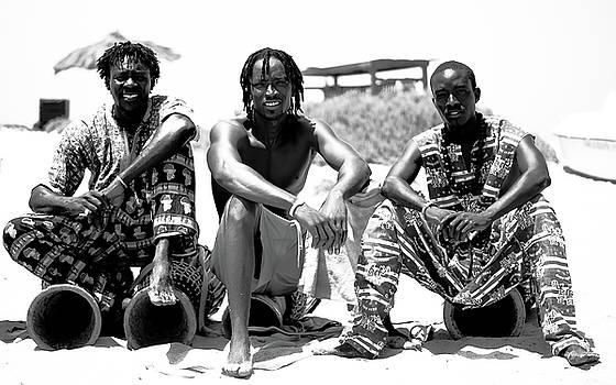 African dancers in Cape Verde by Paul Jarrett
