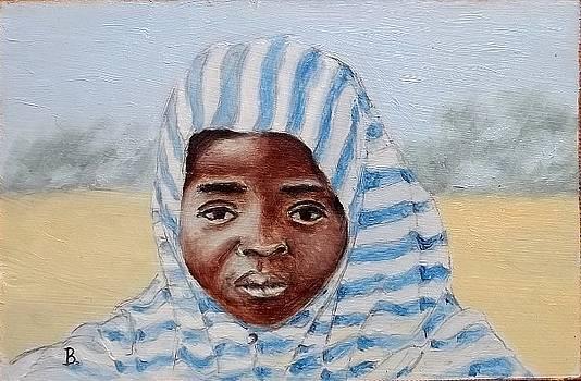African Girl by Brian Van der Spuy
