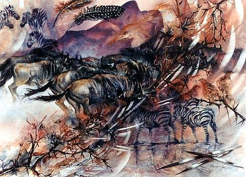 African Mirage by Estelle Hartley