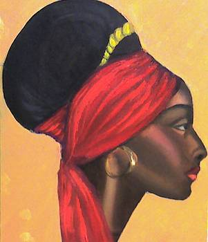 African Queen  by Peter Sparks