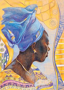 African secession by Bernadett Bagyinka