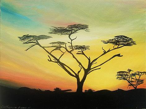 African Sky by Catherine Eager