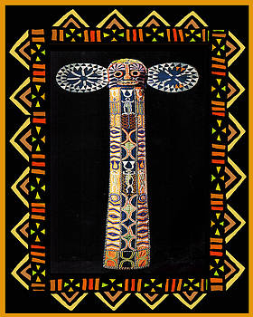 African Tribal Mask by Vagabond Folk Art - Virginia Vivier
