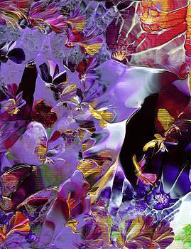 African Violet Awake #2 by Nan Bilden
