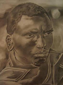 African Warrior by Bennie Parker