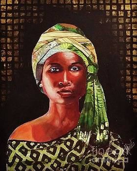 African Woman by Shirley Lennon