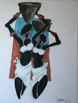 African Women by Garnett Thompkins
